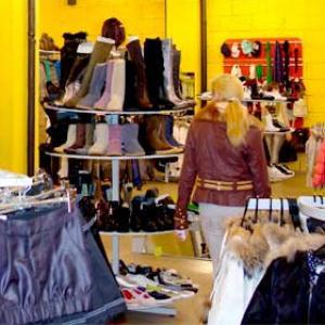 Магазины одежды и обуви Барсуков